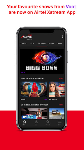 Airtel Xstream App: Movies, Live Cricket, TV Shows screenshot 2