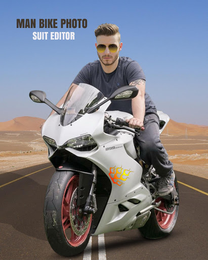 Man Bike Rider Photo Editor screenshot 3