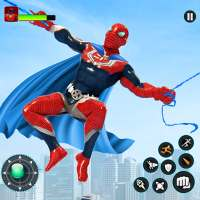 Flying Robot Hero - Crime City Rescue Robot Games on 9Apps