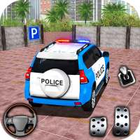 Police Spooky Jeep Parking Simulator icon