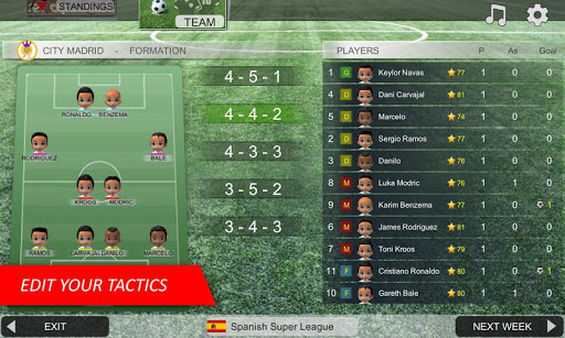 Mobile Soccer League 5 تصوير الشاشة