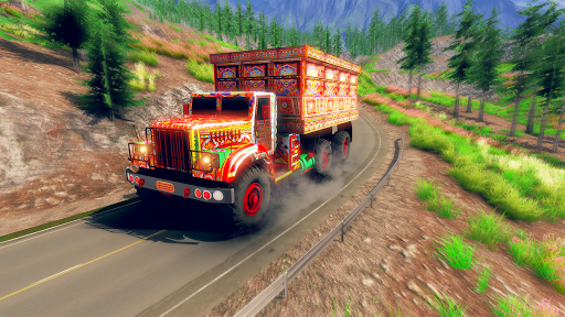 Asian Truck Simulator 2020: เกมขับรถบรรทุก screenshot 1