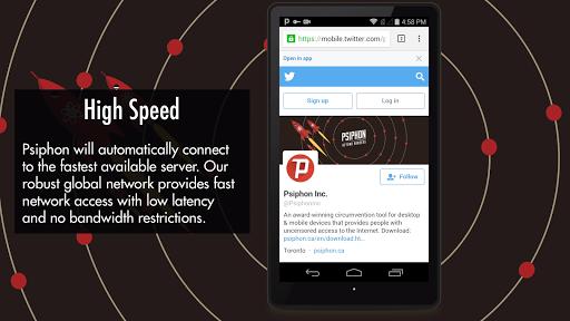 Psiphon Pro screenshot 4