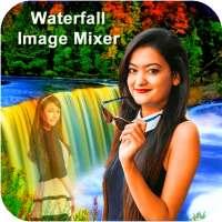 Waterfall Photo Blender : Photo Mixer on APKTom