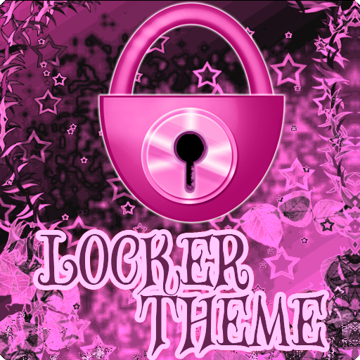 Theme Pink Dark GO Locker icon