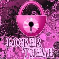 ثيمات الظلام الوردي GO لوكر أيقونة