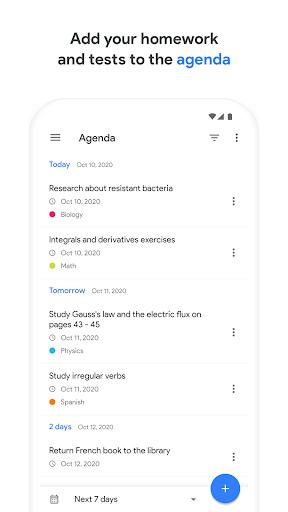 School Planner screenshot 1