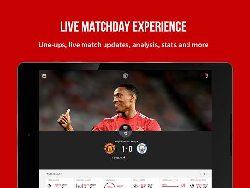 Manchester United Official App 8 تصوير الشاشة