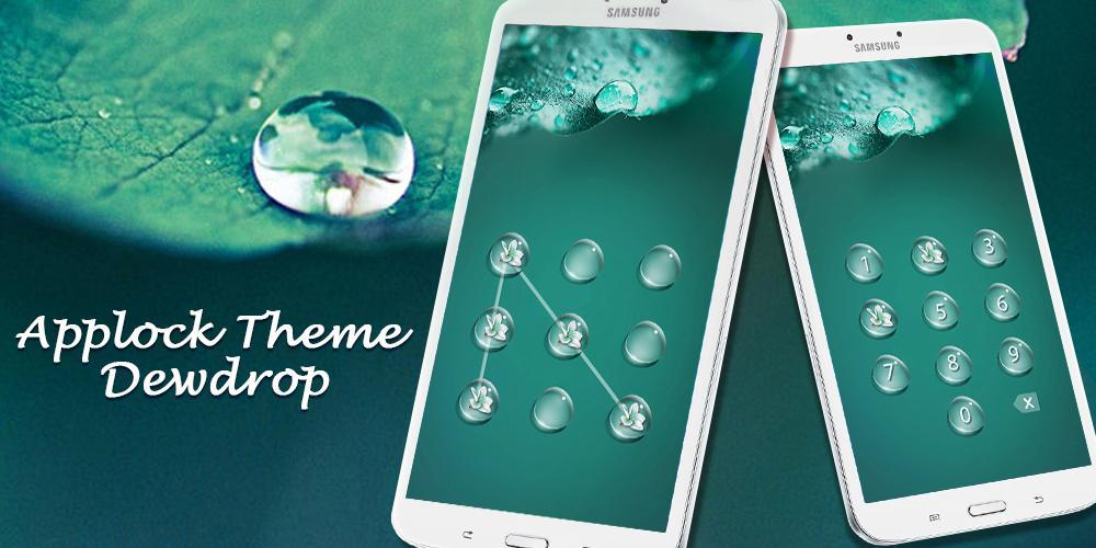 Applock Theme Dewdrop screenshot 3