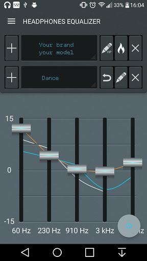 Headphones Equalizer - Music & Bass Enhancer 1 تصوير الشاشة