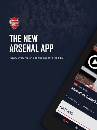 Arsenal Official App 9 تصوير الشاشة