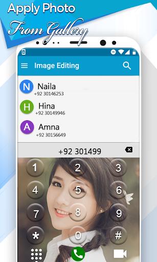 Photo Phone Dialer App: Caller Screen Theme screenshot 2