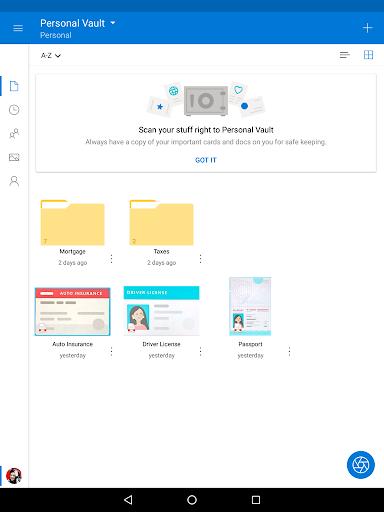 Microsoft OneDrive screenshot 7
