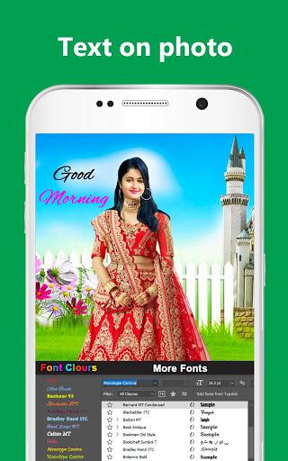Bridal Lehenga, Lehenga Choli & Saree Photo Editor screenshot 12