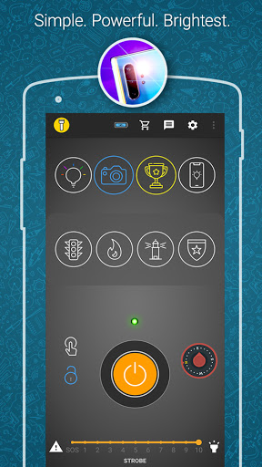 Amazing Flashlight screenshot 1
