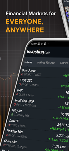 Investing.com: Stocks, Finance, Markets & News screenshot 1