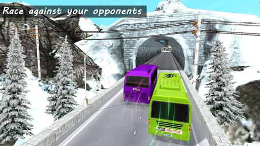 Bus Racing : Coach Bus Simulator 2021 स्क्रीनशॉट 5