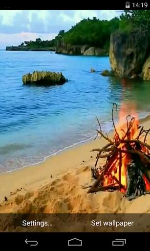 Bonfire Video Live Wallpaper screenshot 2