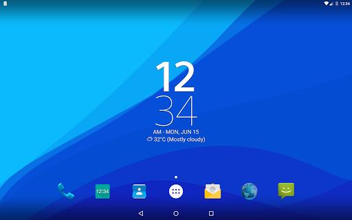 Digital Clock Widget Xperia screenshot 17