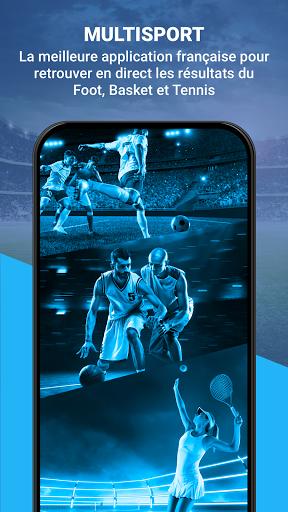 Match en Direct - Live Score 1 تصوير الشاشة