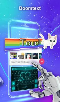 TouchPal Emoji Keyboard - Emoji Lucu,Stiker,Tema screenshot 6