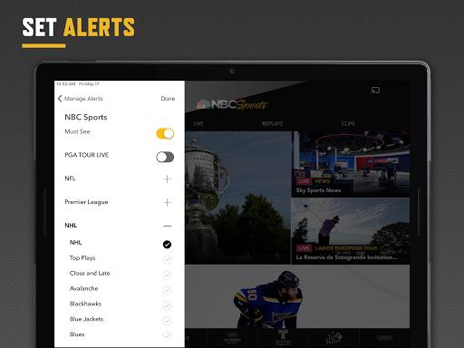 NBC Sports screenshot 8