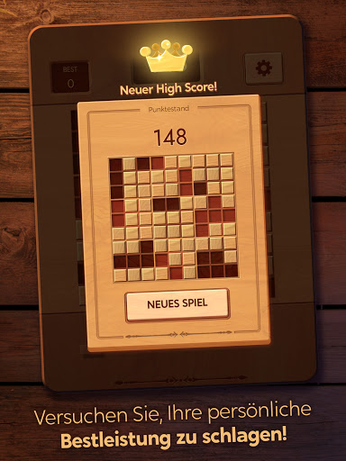 Woodoku: Holzblock-Puzzle-Spiele screenshot 12