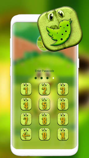 Cute Frog Cartoon Launcher Theme screenshot 5