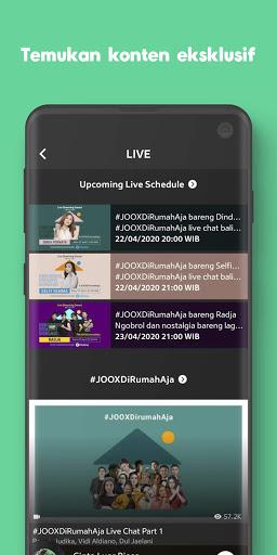 JOOX: Gratis Musik download, Radio dan Karaoke screenshot 5