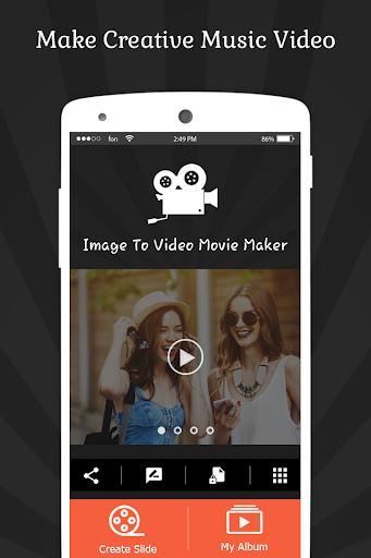 Image To Video Movie Maker - India's Editing App скриншот 4