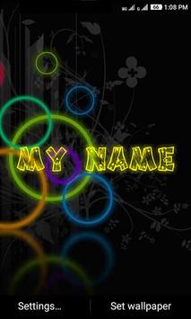 My Name Neon screenshot 4