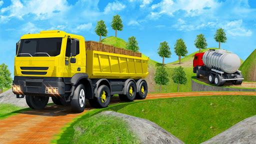 Offroad Transport Truck Driving Simulator screenshot 5