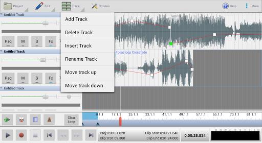 MixPad Multitrack Mixer Free screenshot 6