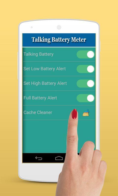 Talking Battery Meter 1 تصوير الشاشة