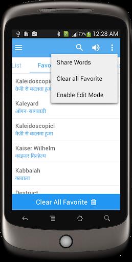 Hindi Dictionary Multifunctional screenshot 4