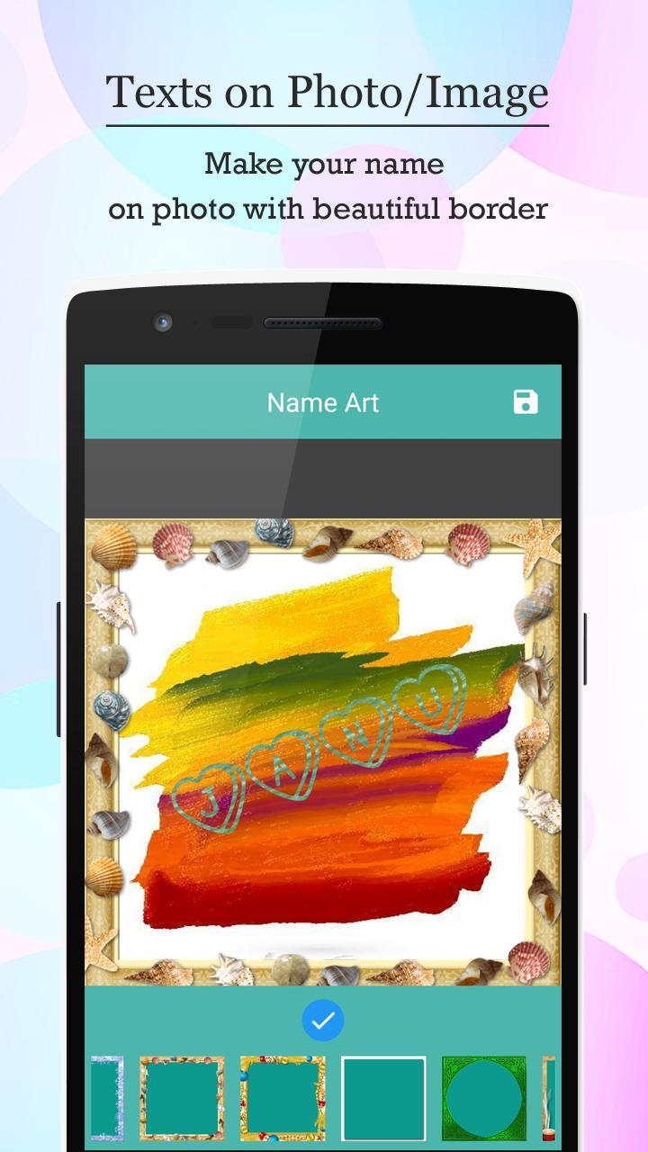 Name Art - Focus N Filter screenshot 7