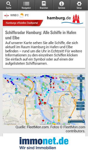 Hamburg App स्क्रीनशॉट 3