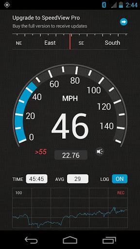SpeedView: GPS Speedometer 1 تصوير الشاشة