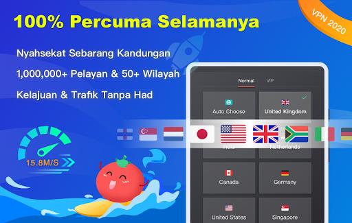 Free VPN Tomato | VPN Hotspot Percuma Terpantas screenshot 6