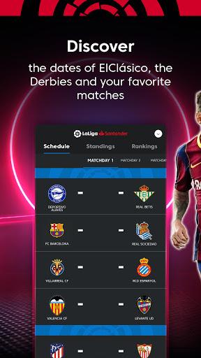 La Liga Official App - Live Soccer Scores & Stats screenshot 2