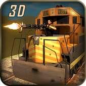 Gunship bataille Bullet Train on 9Apps