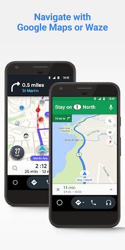 Android Auto - Google Maps, Media & Messaging screenshot 2