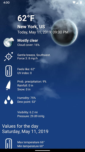 Weather XL PRO screenshot 3