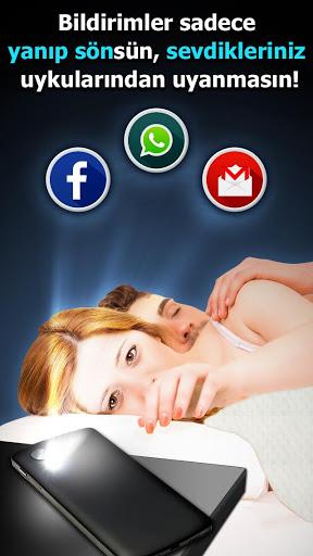 Flaş LED'i - Çağrı, SMS'e screenshot 2