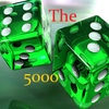 The 5000 points icon