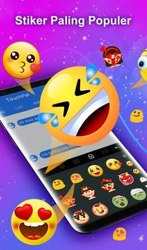 TouchPal Emoji Keyboard - Emoji Lucu,Stiker,Tema screenshot 2