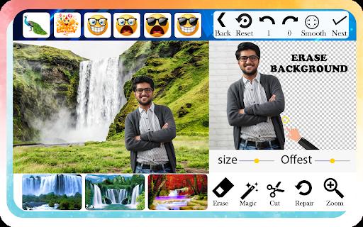 Waterfall Photo Editor and Photo Frames screenshot 2