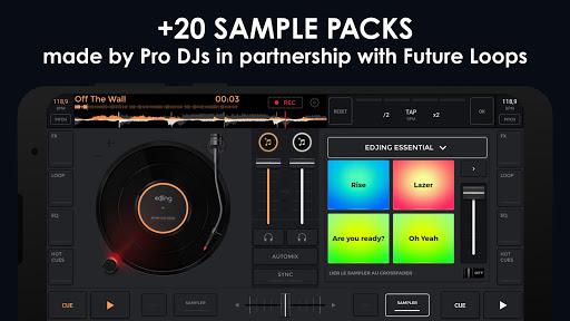 edjing Mix - Free Music DJ app 3 تصوير الشاشة