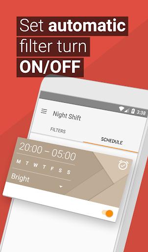 Blue Light Filter & Night Mode - Night Shift screenshot 5