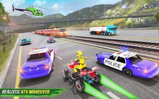 Light ATV Quad Bike Racing, Traffic Racing Games screenshot 19